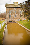 Mascot Roller Mills, historic water powered mill in Amish country Mascot, PA