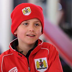 Connor - Photo mandatory by-line: Dougie Allward/JMP - Mobile: 07966 386802 - 01/04/2015 - SPORT - Football - Bristol - Bristol City Training Ground - HR Owen and SAM FM