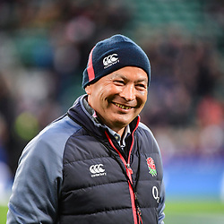 England coach Eddie Jones during the RBS Six Nations match between England and France at Twickenham Stadium on February 4, 2017 in London, United Kingdom. (Photo by Dave Winter/Icon Sport)