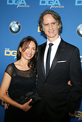 Jay Roach and Susanna Hoffs at the 69th Annual Directors Guild Of America Awards held at the Beverly Hilton Hotel in Beverly Hills, USA on February 4, 2017.