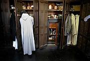 Belgium - Liege April 04, 2007, Priest preparing himself before a mass at his St-Martin Basilica ©Jean-Michel Clajot