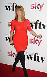 KATE GARRAWAY during the Women In Film & Television Awards 2012 held at the Hilton, London, England, December 7, 2012. Photo by i-Images.