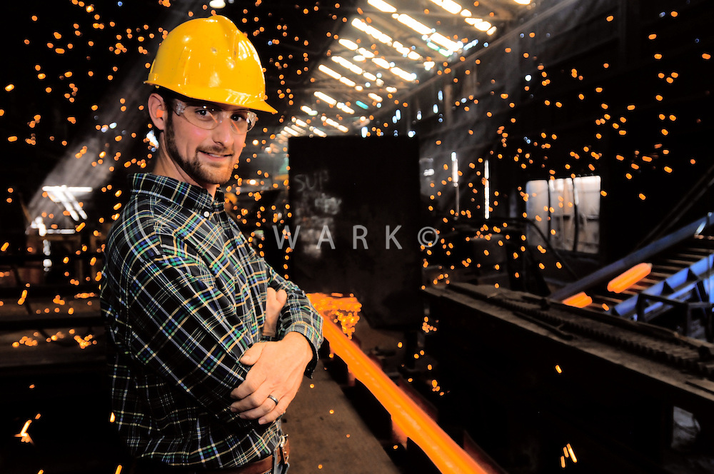 Steelworker portrait