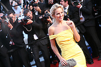 Luisana Lopilatoat the On The Road gala screening red carpet at the 65th Cannes Film Festival France. The film is based on the book of the same name by beat writer Jack Kerouak and directed by Walter Salles. Wednesday 23rd May 2012 in Cannes Film Festival, France.