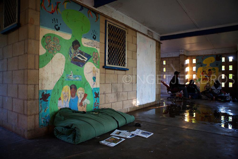 Homeless in Broome in 2012