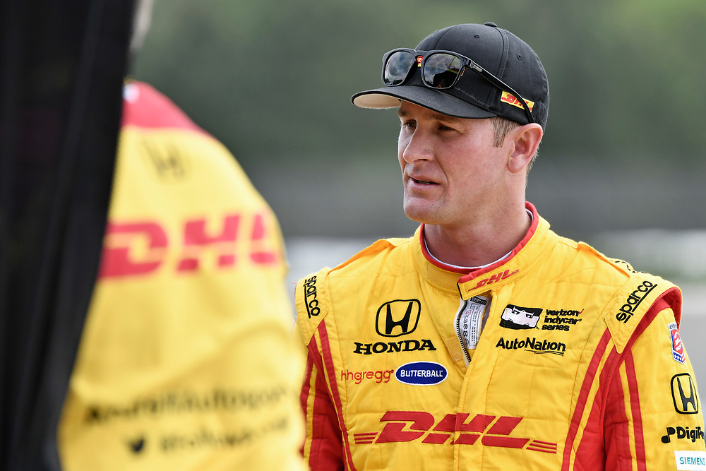 2017 Verizon IndyCar Series<br /> Honda Indy Grand Prix of Alabama<br /> Barber Motorsports Park, Birmingham, AL USA<br /> Saturday 22 April 2017<br /> Ryan Hunter-Reay, Andretti Autosport Honda<br /> World Copyright: Scott R LePage<br /> LAT Images<br /> ref: Digital Image lepage-170422-bhm-2645