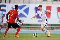 AUBAGNE, FRANCE - Monday, May 29, 2017: England's Harvey Barnes during the Toulon Tournament Group A match between England U18 and Angola U20 at the Stade de Lattre-de-Tassigny. (Pic by David Rawcliffe/Propaganda)