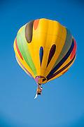 Israel, Timna Valley, Hot Air Balloon show