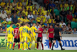 Players during 2nd Leg football match between NK Domzale and FC Freiburg in 3rd Qualifying Round of UEFA Europa League 2017/18, on August 3rd, 2017 in SRC Stozice, Ljubljana, Slovenia. Photo by Urban Urbanc / Sportida