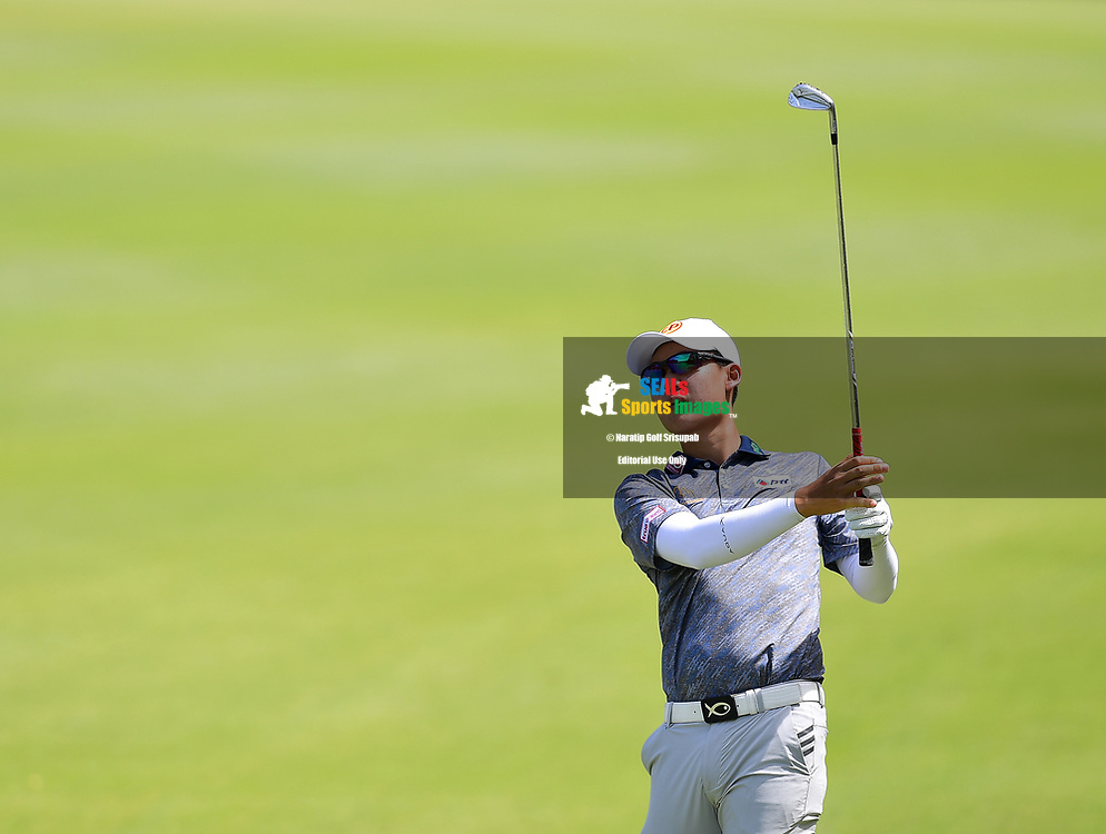 PERTH, AUSTRALIA - FEBRUARY 16: Jazz Janewattananond (THA) on the 2nd fairway during the 3rd round of the ISPS Handa World Super 6, Lake Karrinyup Country Club, Perth, Western Australia, on February 16, 2019. <br /> .<br /> .<br /> .<br /> (Photo by: Naratip Golf Srisupab/SEALs Sports Images)<br /> .<br /> Any image use must include a mandatory credit line adjacent to the content which should read: Naratip Golf Srisupab/SEALs Sports Images