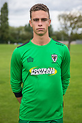 Nick Tzanev during the AFC Wimbledon Photocall 2017 at the Kings Sports Ground, New Malden, United Kingdom on 1 August 2017. Photo by Shane Healey.