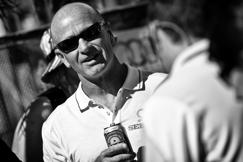 FRANCE, Marseille. 19th June 2011. AUDI MedCup Marseille Trophy. Ed Reynolds, Project Manager, TP52, Quantum Racing.