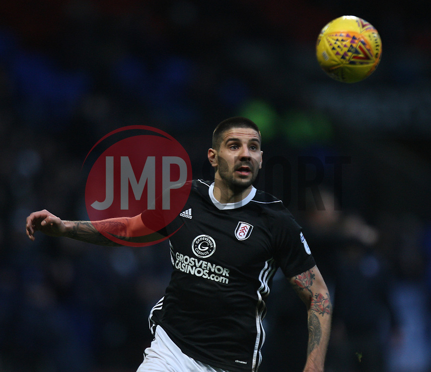 Aleksandar Mitrovic of Fulham in action - Mandatory by-line: Jack Phillips/JMP - 10/02/2018 - FOOTBALL - Macron Stadium - Bolton, England - Bolton Wanderers v Fulham - English Football League Championship