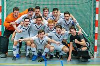 ARNHEM -  halve finales NK competitie  zaalhockey  junioren. Pinoke JA1-Nijmegen JA1 . Pinoke plaats zich voor de finale. .   COPYRIGHT  KOEN SUYK