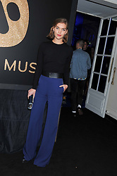 ARIZONA MUSE at the Warner Music Group Post Brit Awards Party in Association with Samsung held at The Savoy, London on 20th February 2013.