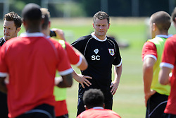 - Photo mandatory by-line: Dan Rowley/JMP - Tel: Mobile: 07966 386802 24/07/2013 - SPORT - FOOTBALL - Bristol -  Bristol City V Reading<br /> Bristol City manager Steve Cotterill during Bristol City's first pre-season training session.