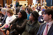 The VSO's Godmothers event. Campaigners gathered to ensure the Government gives substantial financial support to UN Women, putting an end to discrimination against women around the world.