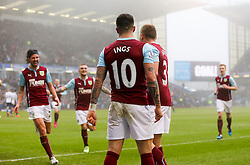Burnley's Danny Ings celebrates after scoring Burnley's second goal- Photo mandatory by-line: Matt McNulty/JMP - Mobile: 07966 386802 - 08/02/2015 - SPORT - Football - Burnley - Turf Moor - Burnley v West Brom - Barclays Premier League