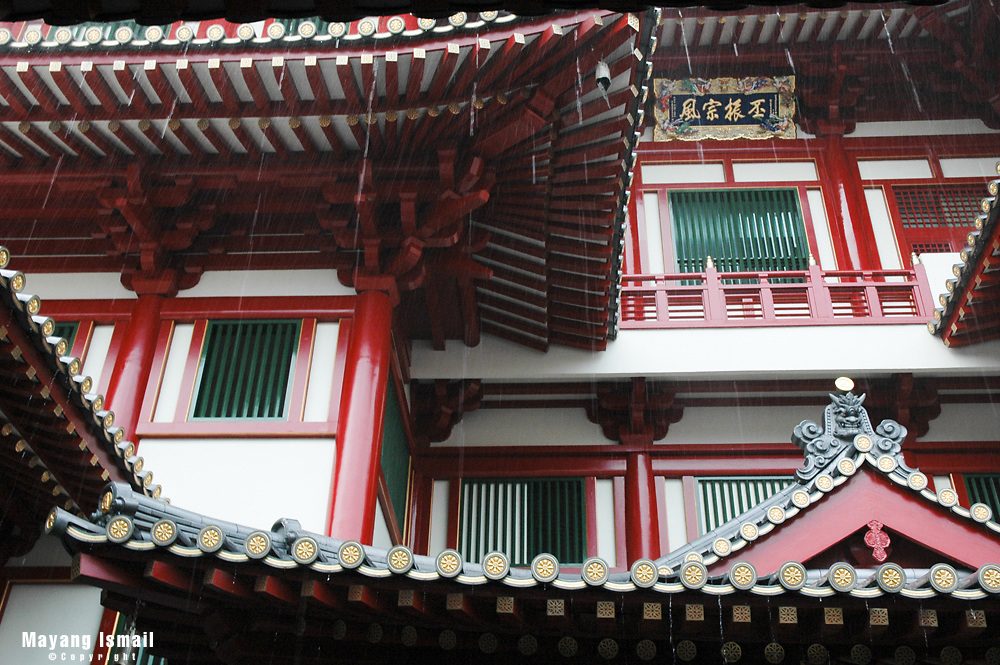 Chinese Temple in Singapore