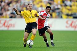 27-04-2008 VOETBAL: KNVB BEKERFINALE FEYENOORD - RODA JC: ROTTERDAM <br /> Feyenoord wint de KNVB beker - Jonathan de Guzman en <br /> ©2008-WWW.FOTOHOOGENDOORN.NL