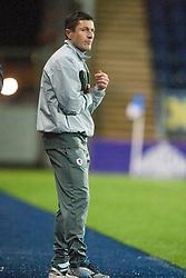 Raith Rovers Player-Coach Grant Murray.<br /> Falkirk 3 v 1 Raith Rovers, Scottish Championship game at The Falkirk Stadium.