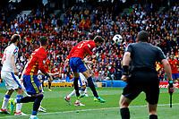 Geard Pique Goal gol Gerard Pique <br /> Toulouse 13-06-2016 Stade de Toulouse Footballl Euro2016 Spain - Czech Republic  / Spagna - Repubblica Ceca Group Stage Group D. Foto Matteo Ciambelli / Insidefoto