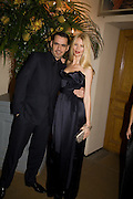 ROLAND MOURET; CLAUDIA SCHIFFER, Chaos Point: Vivienne Westwood Gold Label Collection performance art catwalk show and auction in aid of the NSPCC. Banqueting House. London. 18 November 2008<br /> *** Local Caption *** -DO NOT ARCHIVE -Copyright Photograph by Dafydd Jones. 248 Clapham Rd. London SW9 0PZ. Tel 0207 820 0771. www.dafjones.com