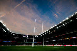 General View inside the stadium during the half time break - Mandatory byline: Rogan Thomson/JMP - 07966 386802 - 31/10/2015 - RUGBY UNION - Twickenham Stadium - London, England - New Zealand v Australia - Rugby World Cup 2015 FINAL.