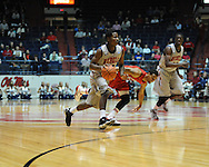 """Ole Miss' Jarvis Summers(32) vs. Louisiana-Lafayette at C.M. """"Tad"""" Smith Coliseum in Oxford, Miss. on Wednesday, December 14, 2011. (AP Photo/Oxford Eagle, Bruce Newman)"""