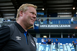 September 14, 2017 - Reggio Emilia, Italy - Everton Manager Ronald Koeman during the UEFA Europa League group E match between Atalanta and Everton FC at Stadio Citta del Tricolore on September 14, 2017 in Reggio nell'Emilia, Italy. (Credit Image: © Matteo Ciambelli/NurPhoto via ZUMA Press)