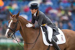 Ferrer-Salat Beatriz, (ESP), Delgado<br /> FEI European Championships - Aachen 2015<br /> © Hippo Foto - Leanjo de Koster<br /> 16/08/15