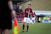 Northampton Town midfielder Shaun McWiliams (17) during the EFL Sky Bet League 1 match between Northampton Town and Bury at Sixfields Stadium, Northampton, England on 25 November 2017. Photo by Nigel Cole.