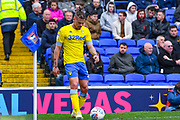 Kalvin Phillips of Leeds United (23) in action during the EFL Sky Bet Championship match between Ipswich Town and Leeds United at Portman Road, Ipswich, England on 5 May 2019.