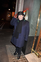 HUGH SACHS at One Night Only at The Ivy held at The Ivy, 1-5 West Street, London on 2nd December 2012.