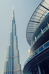 Burj Khalifa tower in Downtown Dubai United Arab Emirates