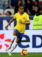 International Women's Friendly Matchs 2018 / <br /> France v Brazil 3-1 ( Allianz Riviera Stadium - Nice,France ) - <br /> Tayla Santos of Brazil