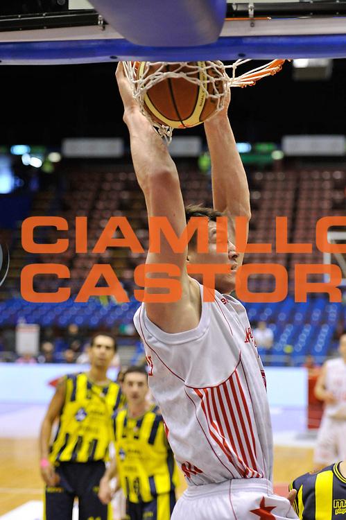 DESCRIZIONE : Milano Lega A 2009-10 Playoff Quarti di Finale Gara 2 AJ Milano Sigma Coatings Montegranaro<br /> GIOCATORE : Jonas Maciulis<br /> SQUADRA : AJ Milano<br /> EVENTO : Campionato Lega A 2009-2010 <br /> GARA : AJ Milano Sigma Coatings Montegranaro<br /> DATA : 22/05/2010<br /> CATEGORIA : Schiacciata<br /> SPORT : Pallacanestro <br /> AUTORE : Agenzia Ciamillo-Castoria/DomenicoPescosolido<br /> Galleria : Lega Basket A 2009-2010 <br /> Fotonotizia : Siena Lega A 2009-10 Playoff Quarti di Finale Gara 2 AJ Milano Sigma Coatings Montegranaro<br /> Predefinita :
