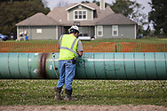 Instlation of the Bayou Bridge Pipeline