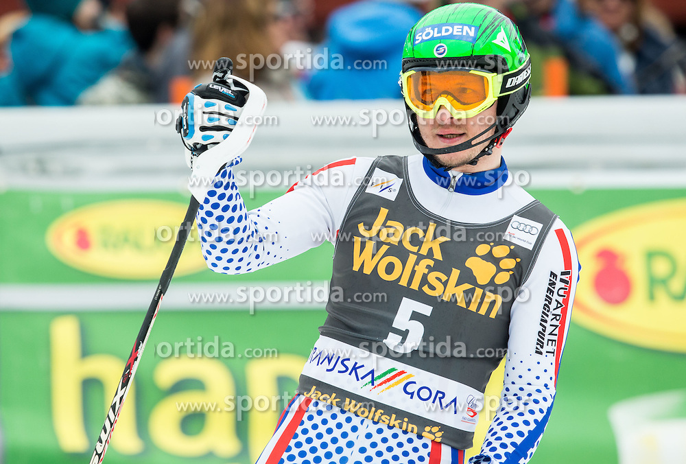 KHOROSHILOV Alexander of Russia during 2nd Run at Men Slalom race of FIS Alpine Ski World Cup 54th Vitranc Cup 2015, on March 15, 2015 in Kranjska Gora, Slovenia. Photo by Vid Ponikvar / Sportida