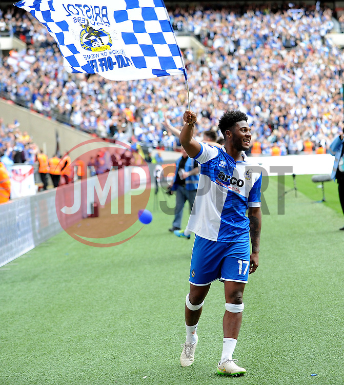 Bristol Rovers' Ellis Harrison - Photo mandatory by-line: Neil Brookman/JMP - Mobile: 07966 386802 - 17/05/2015 - SPORT - football - London - Wembley Stadium - Bristol Rovers v Grimsby Town - Vanarama Conference Football