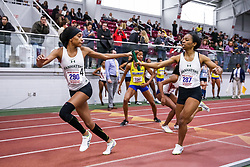 4x400 relay, Manhattan<br /> ECAC/IC4A Track and Field Indoor Championships