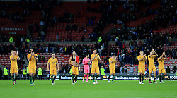 Australia players applaud their supporters - Mandatory by-line: Matt McNulty/JMP - 27/05/2016 - FOOTBALL - Stadium of Light - Sunderland, United Kingdom - England v Australia - International Friendly