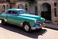 Car in Bauta, Artemisa, Cuba.