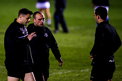Officials for England U20 v Italy U20 in the Six Nations - Mandatory by-line: Robbie Stephenson/JMP - 08/03/2019 - RUGBY - Goldington Road - Bedford, England - England U20 v Italy U20 - Six Nations U20