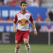 Felipe Martins, New York Red Bulls,  in action during the New York Red Bulls Vs NYCFC, MLS regular season match at Red Bull Arena, Harrison, New Jersey. USA. 10th May 2015. Photo Tim Clayton