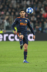 November 27, 2018 - Turin, Piedmont, Italy - Gonalo Guedes (Valencia CF) during the UEFA Champions League match between Juventus FC and Valencia CF, at Allianz Stadium on November 27, 2018 in Turin, Italy. .Juventus won 1-0 over Valencia. (Credit Image: © Massimiliano Ferraro/NurPhoto via ZUMA Press)