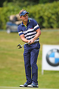 Luke DONALD on the 17th during the 4th day of the BMW PGA Championship at Wentworth, Virginia Water, United Kingdom on 24 May 2015. Photo by Ellie  Hoad.
