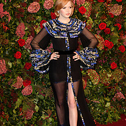 Ellie Bamber attends Evening Standard Theatre Awards at Theatre Royal, on 18 November 2018, London, UK.