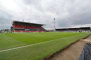 Grimsby Town Blundell Park ground before the EFL Sky Bet League 2 match between Grimsby Town FC and Oldham Athletic at Blundell Park, Grimsby, United Kingdom on 15 September 2018.