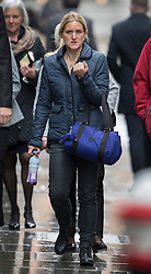 © Licensed to London News Pictures. 14/11/2016. London, UK. Kim Leadbeater, sister of murdered MP Jo Cox, attends the trial of defendent Thomas Mair at The Old Bailey. Mair allegedly shot and stabbed the 41-year-old Member of Parliament outside her constituency surgery in Birstall, near Leeds, Yorkshire on June 16 this year. Photo credit: Peter Macdiarmid/LNP